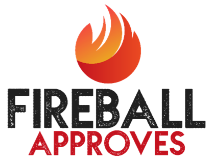 Fireball logo png. Approves so you won