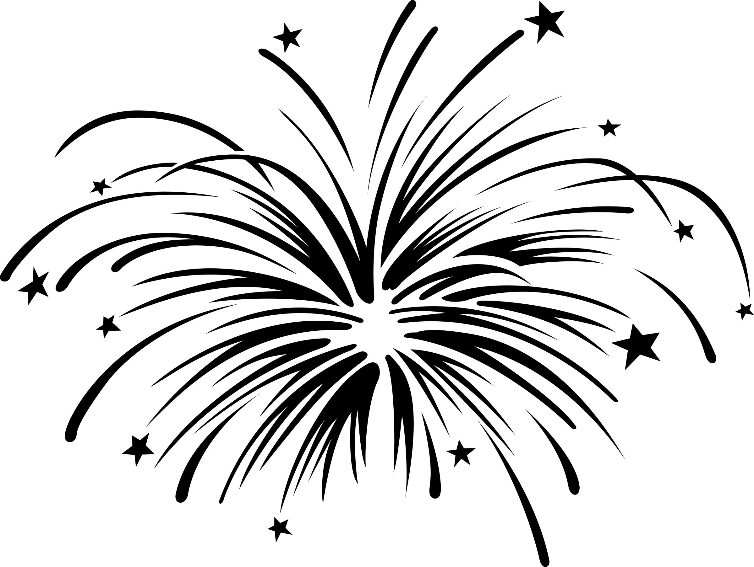 Years free clipart fireworks. With animation panda images