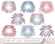 Firecracker clipart july 4 firework. Instant download fourth of