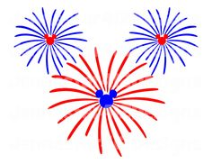 Firecracker clipart mickey mouse. Disney forth of july
