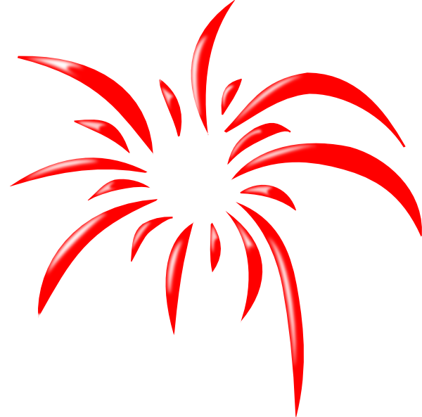 Firecracker clipart simple. Animated fireworks for powerpoint