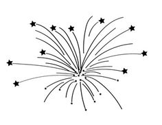 Firecracker clipart simple. Fireworks with animation panda