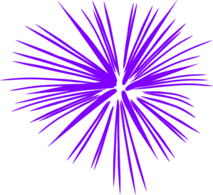 Fireworks clip vector. Purple art at clker