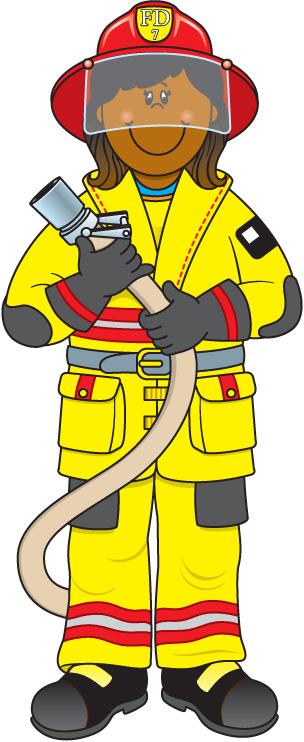 Panda free images firefighterclipart. Firefighter clipart image black and white library
