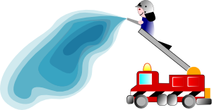 Firefighter clipart bumbero. Fire truck free at