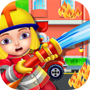 Firefighter clipart bumbero. Free station