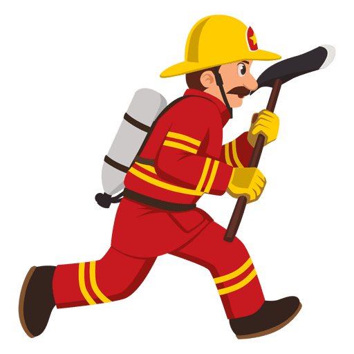 Firefighter clipart five. Fireman at getdrawings free