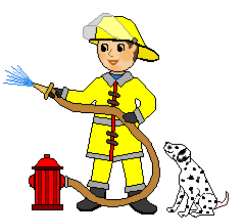 Free cliparts download clip. Firefighter clipart male firefighter jpg black and white