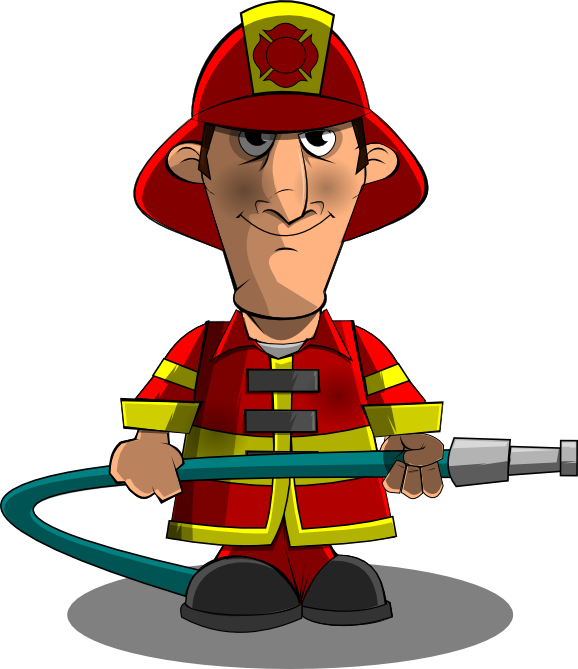 fireman clipart little