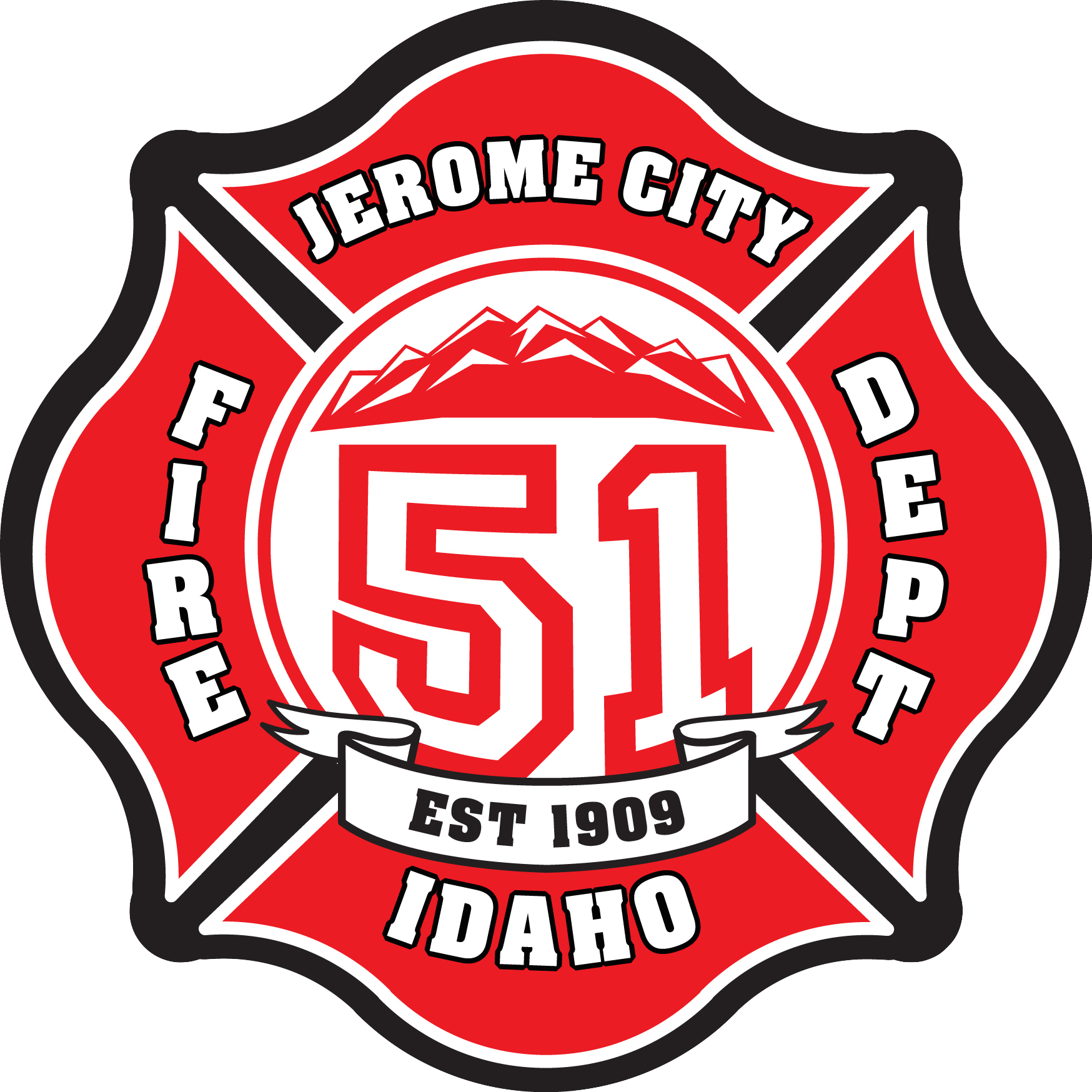 Firefighter crest png. City of jerome fire