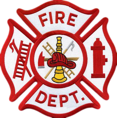Firefighter crest png. Commercial structure fire on