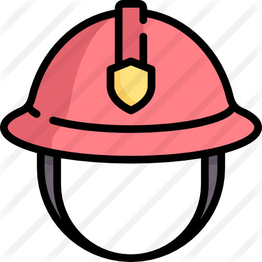 Firefighter helmet png. Free security icons icon