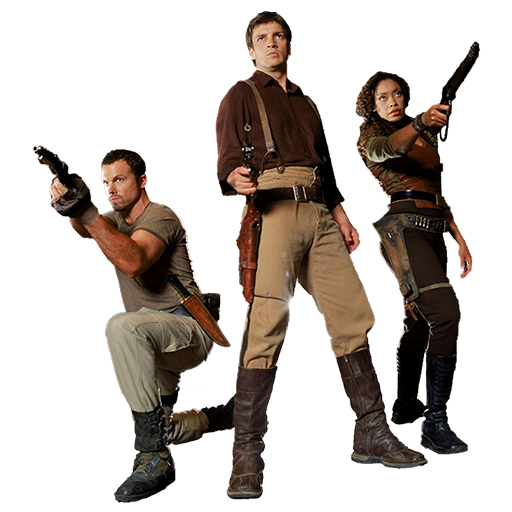 Firefly characters png. Tv fanart character