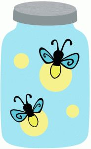Bug fireflies lightning bugs. Firefly clipart image freeuse stock