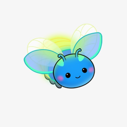 Firefly clipart. Insect png image and