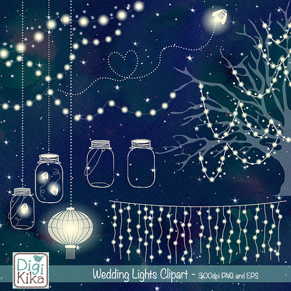 Lantern clipart string lantern. Wedding lights clip art