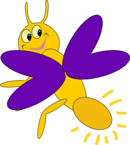 Firefly clipart banner free stock