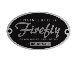 Firefly serenity logo png. Engineered by bumper sticker