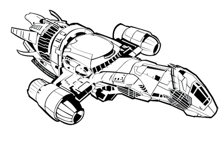 Firefly serenity logo png. Ship drawing i need