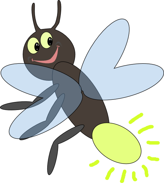 Firefly silhouette png. Free clipart