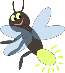 Firefly svg clip art. Lighting bug at clker