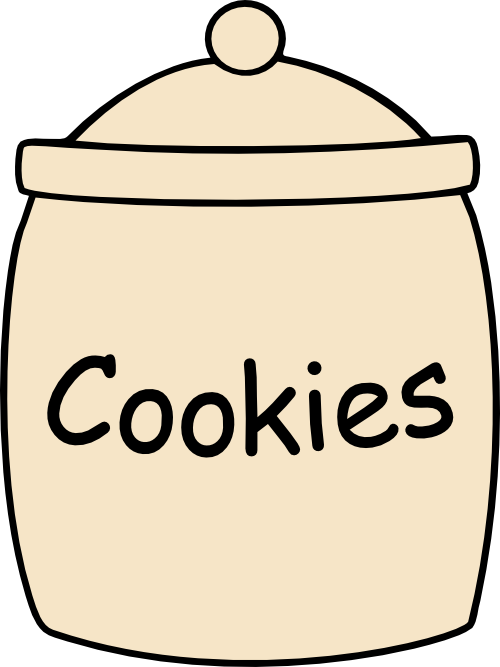 Cookie svg file images. Transparent jar cartoon png black and white stock