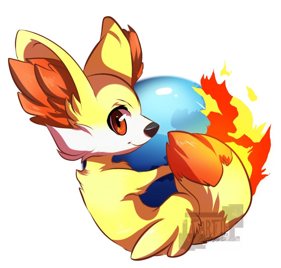 Firefox drawing. By tartii on deviantart
