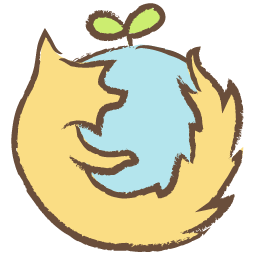 Firefox drawing cartoon. Icon whistlepuff iconset firstfear