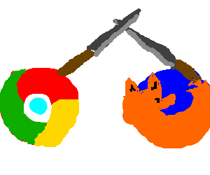 Firefox drawing epic. Google chrome and in
