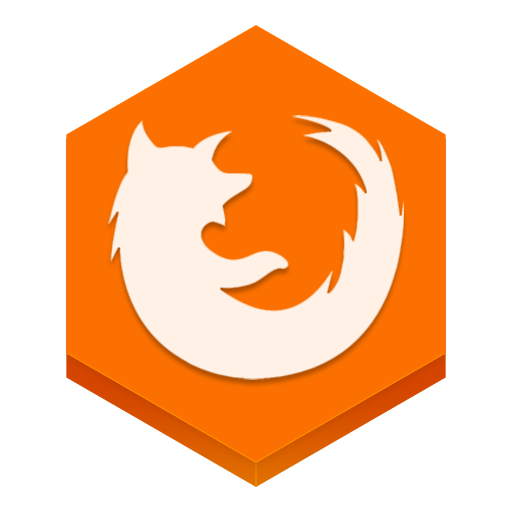 Firefox honeycomb png. Icon hex iconset martz