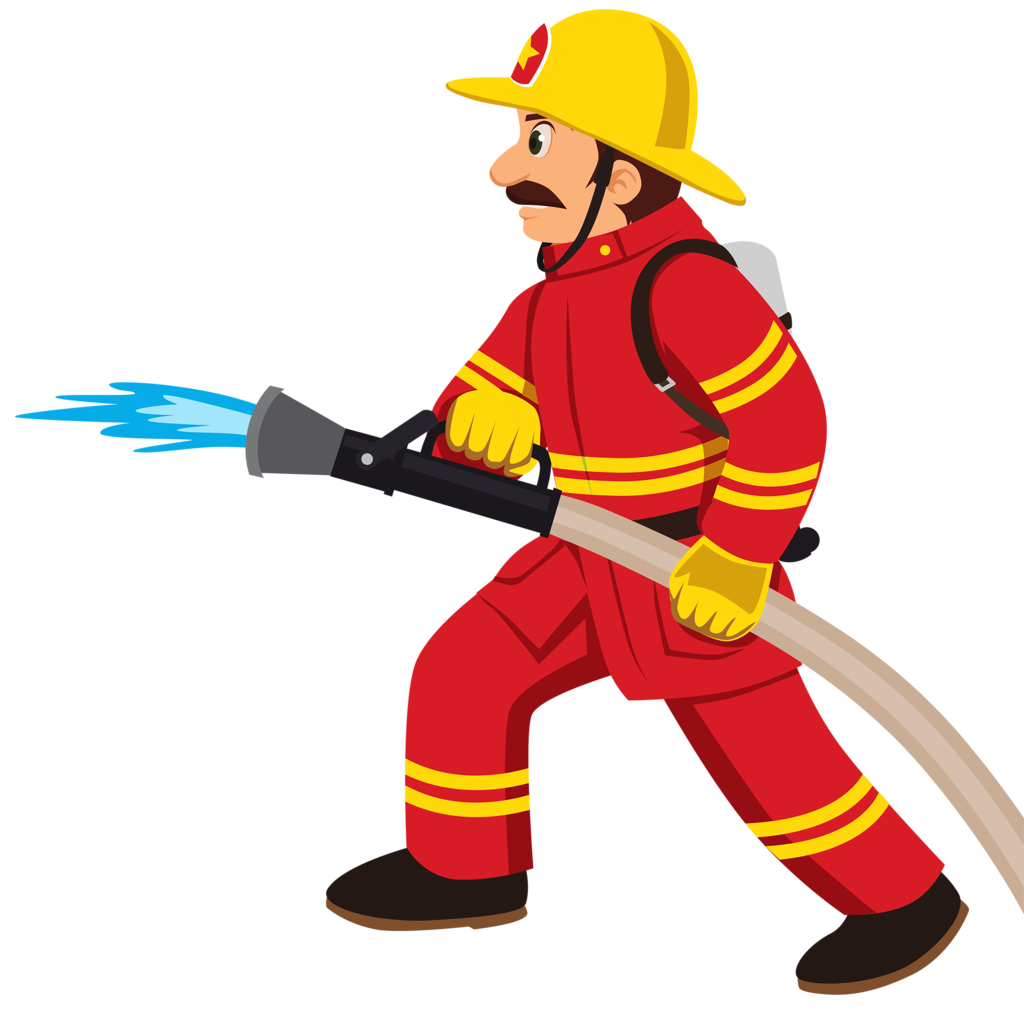 Worker clipart worker indian. Fireman station card from