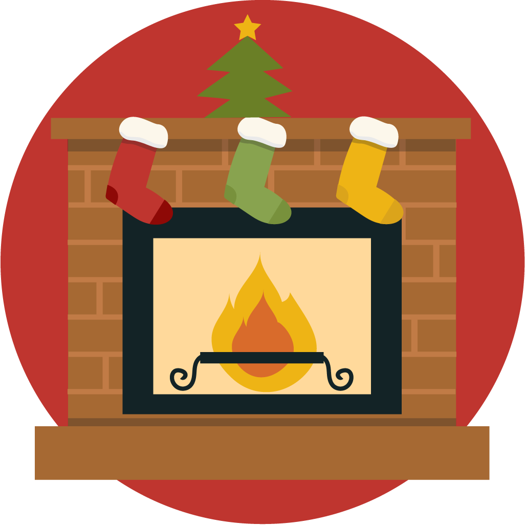 Chimney clipart. Free holiday fireplace cliparts