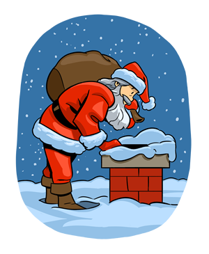 Rooftop vector animated. Free christmas clipart new