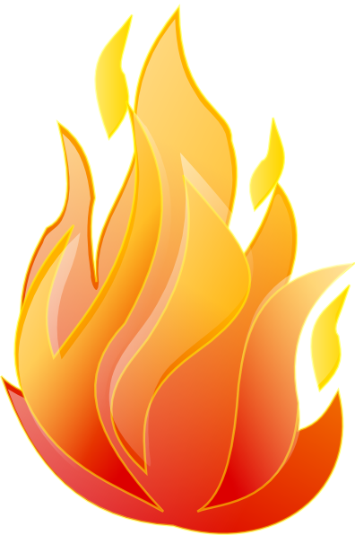light clipart fire
