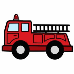 Firetruck clipart draw. Fire truck drawing pictures