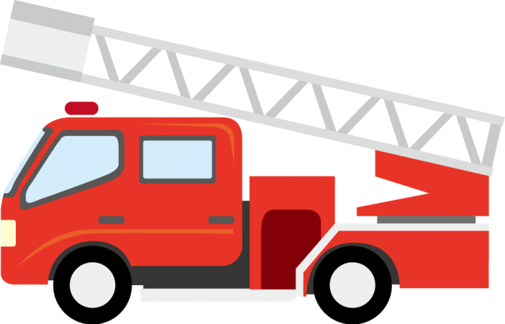 Firetruck vector cartoon. Clipart free download page