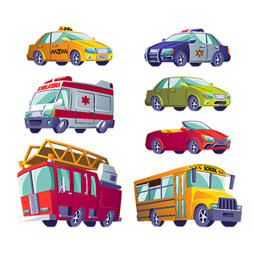 Trucking vector. Fire truck png images