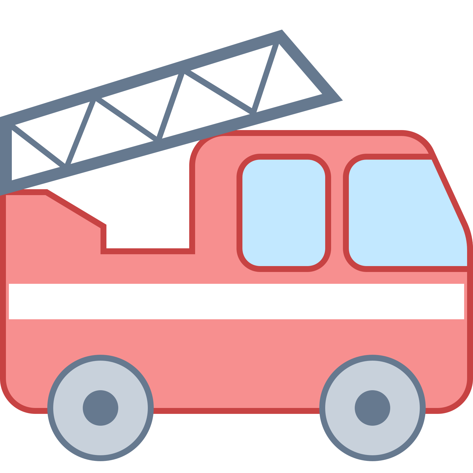 Fire truck icon free. Motor vector ride clip art free library