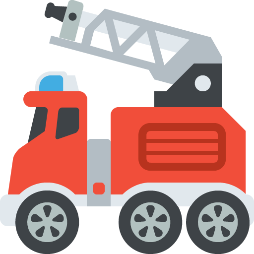 Firetruck clipart vector. Fire engine silhouette at