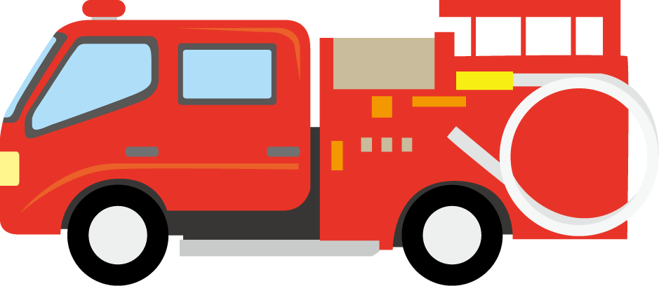 Firetruck vector transparent. Image royalty free