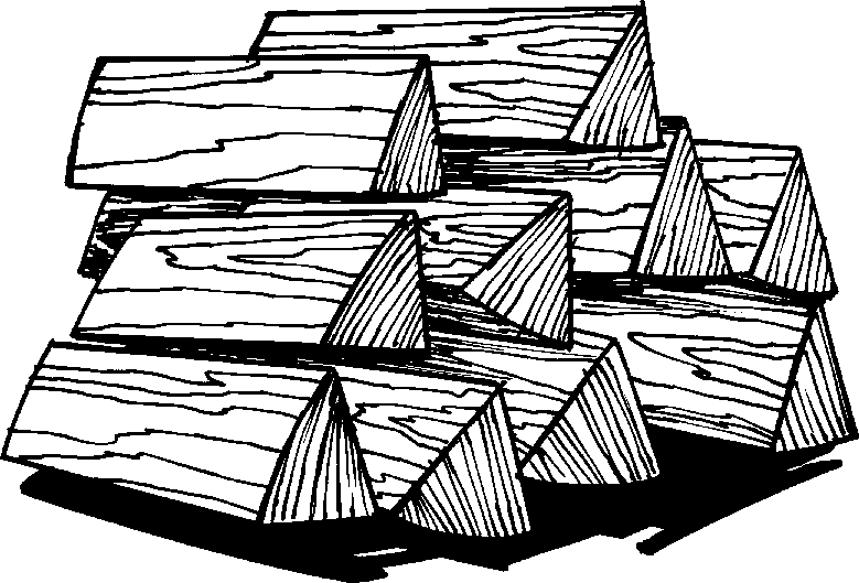 Firewood clipart black and white.