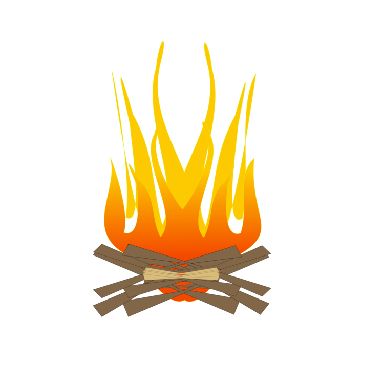 Outdoors clipart camp fire flame. S more campfire bonfire