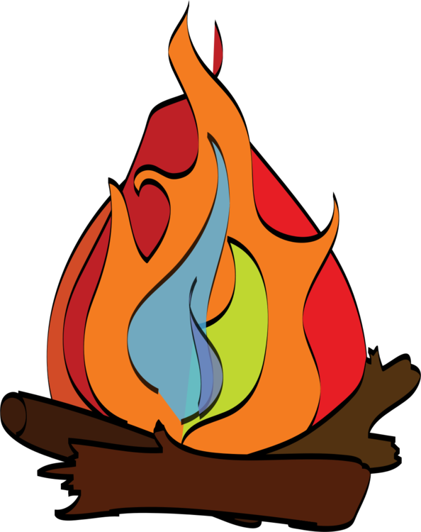 Firewood clipart bon fire. S more campfire camping