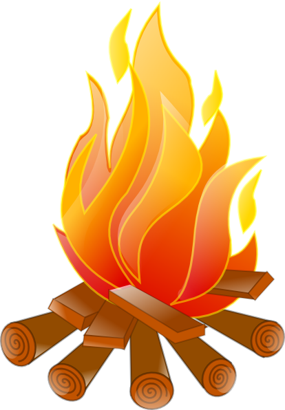 bonfire vector png