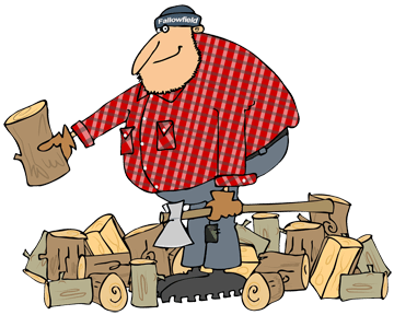 Firewood clipart pile wood. Ready to burn pick