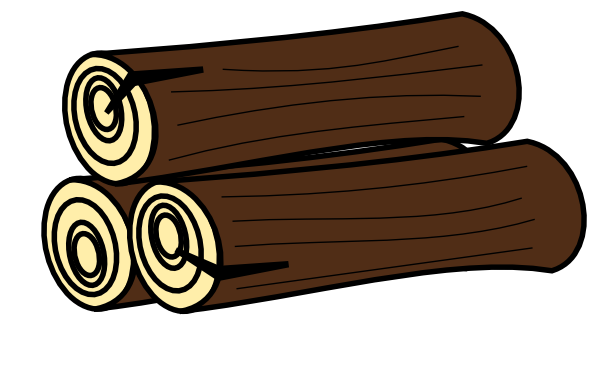 Firewood clipart stack wood. Free pile cliparts download