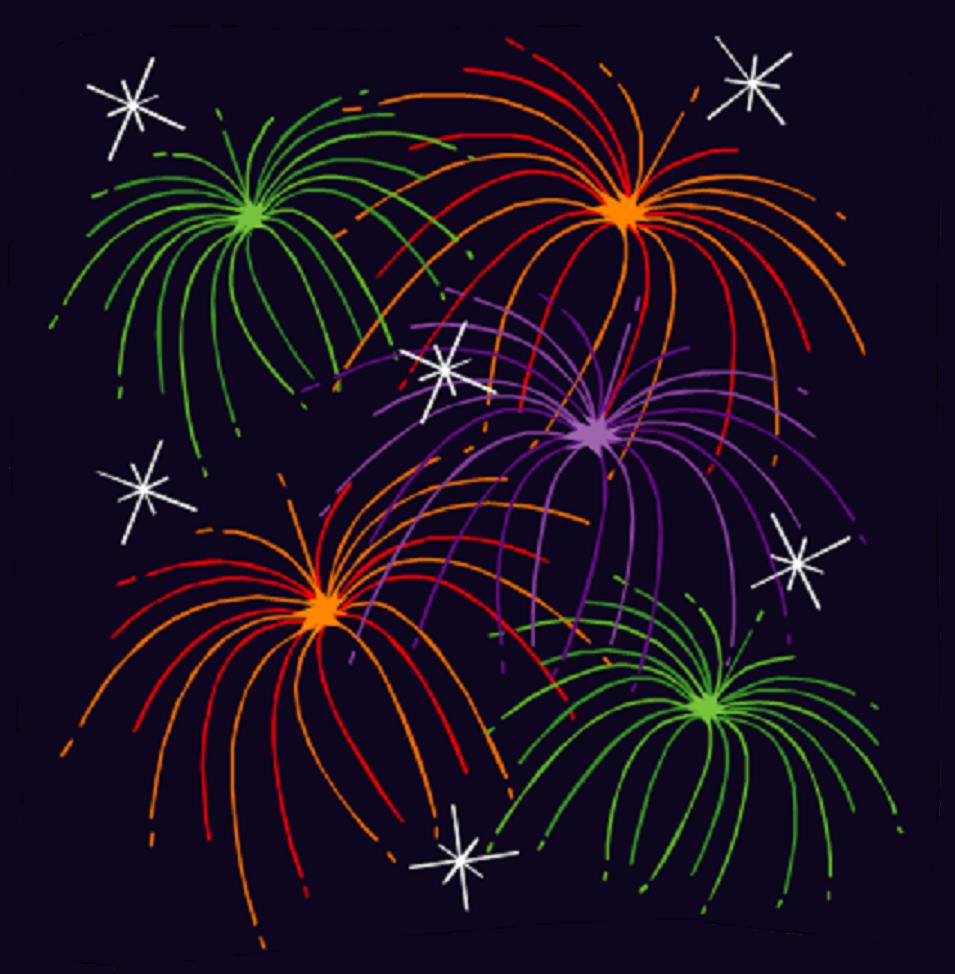 Firework clipart animated free. Fireworks cliparts download clip