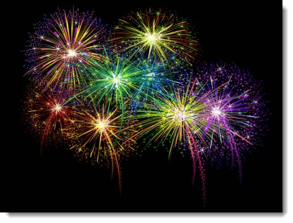 Firework clipart animated free. Fireworks slide the powerpoint