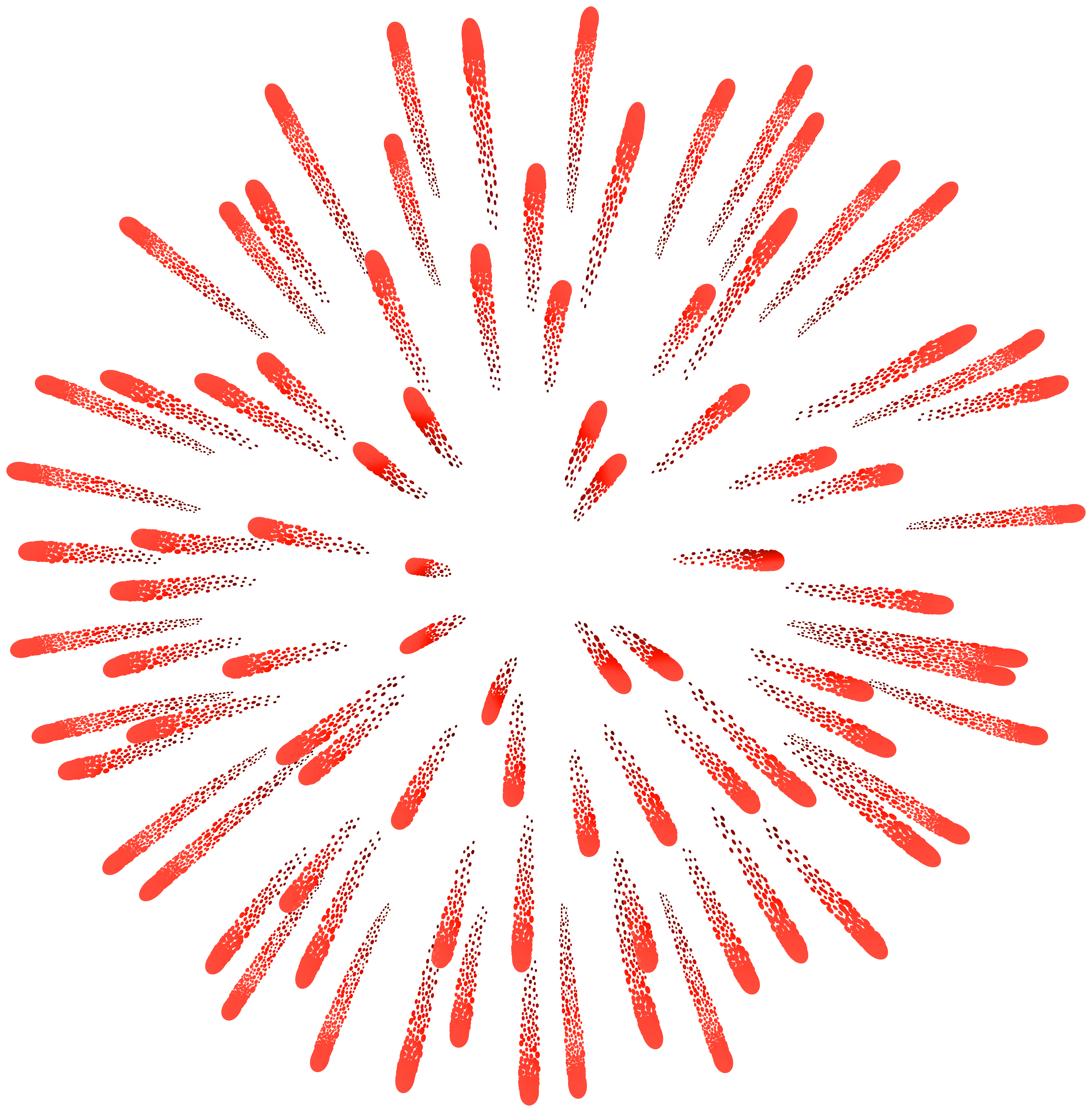 Firework png. Red clip art image