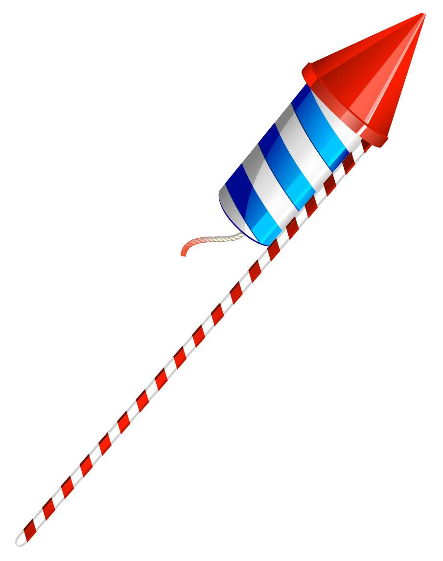 Firework rocket png. Happy fourth of july